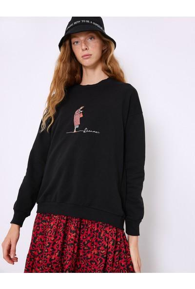 Koton Kadın Sweatshirt 0KAF10929GK999