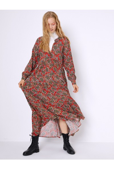Koton Kadın Elbise 0KAF80246GWI91