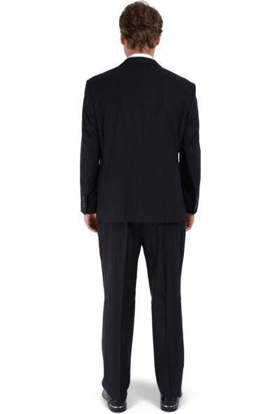 Morven Julies Regular Fit Ekose Takım Elbise Kahverengi