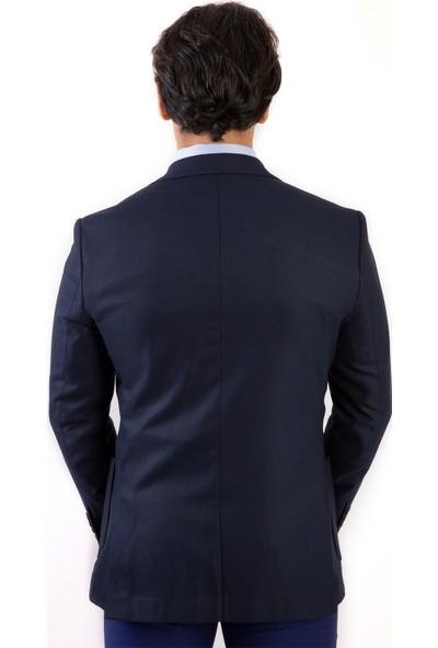 Morven Frenco Dinamik Fit Trend Ceket Lacivert