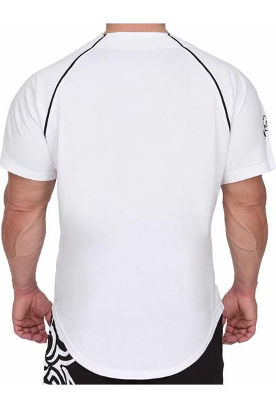 Big Sam Erkek Antrenman Fitness T-Shirt 3251