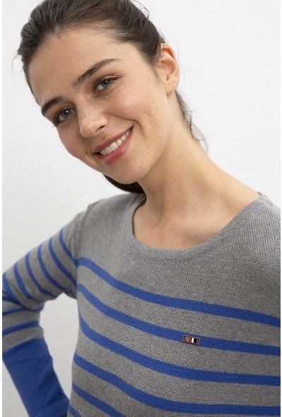 U.S. Polo Assn. Kadın Kazak 50205599-Vr086