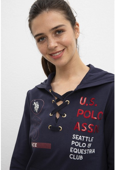 U.S. Polo Assn. Kadın Sweatshirt 50206527-Vr033