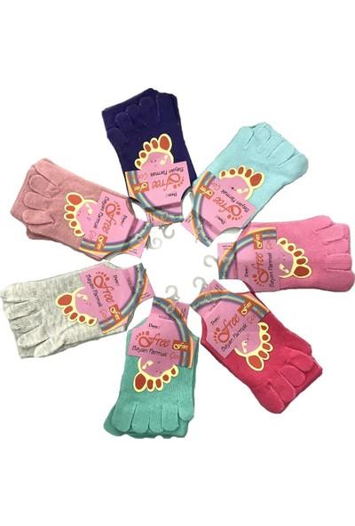 Daren Free Kadın Parmak Çorap (6'lı Ekonomik Paket)