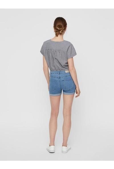 Vero Moda Hot Seven Nw Dnm Fold Şort 10193079