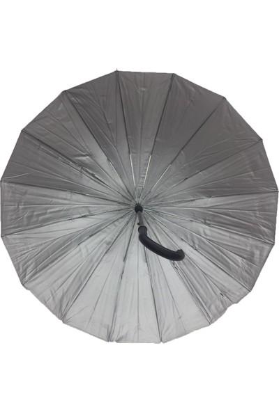 Aktaş Siyah Baston Şemsiye