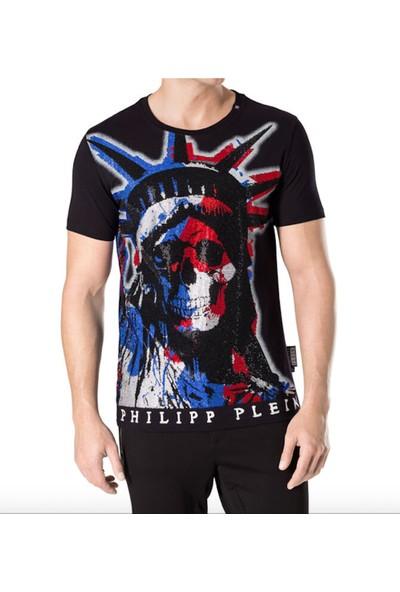 Philipp Plein Red Erkek T-Shirt
