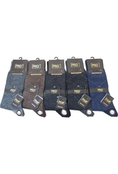 Pro Çorap 6'lı Paket Pro Akdağ Termal Lambswool Yün Erkek Çorap