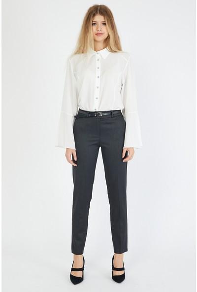 Bazza Kadın Antrasit Pantolon