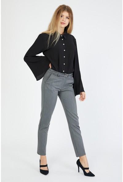 Bazza Kadın Gri Pantolon