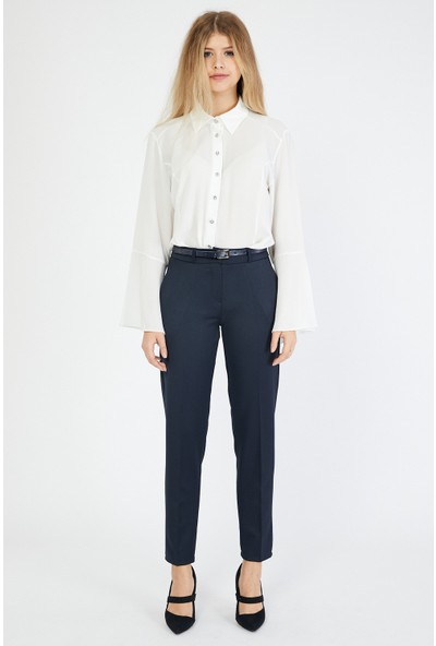 Bazza Kadın Lacivert Pantolon