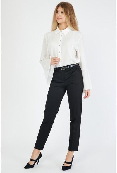 Bazza Kadın Siyah Pantolon