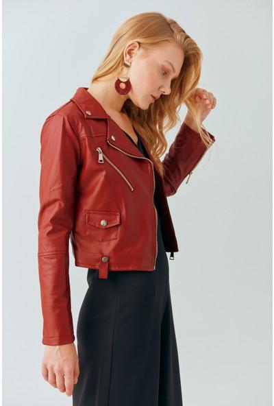 Cream&Rouge 19-7001 Deri Ceket
