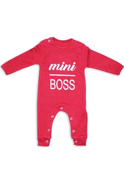 Murat Baby Mini Boss Baskılı Bebek Tulum