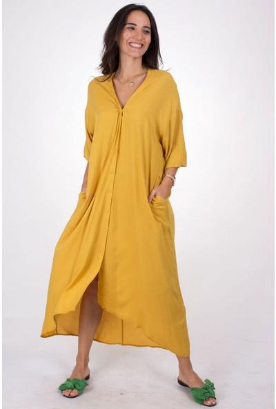 Butik Kafası Kadın BKME103 Kimono Elbise