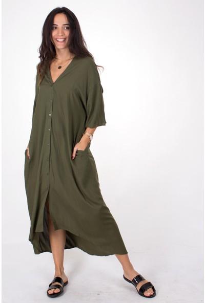 Butik Kafası Kadın BKME104 Kimono Elbise