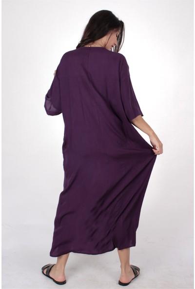 Butik Kafası Kadın BKME109 Kimono Elbise