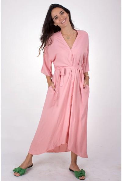 Butik Kafası Kadın BKME107 Kimono Elbise