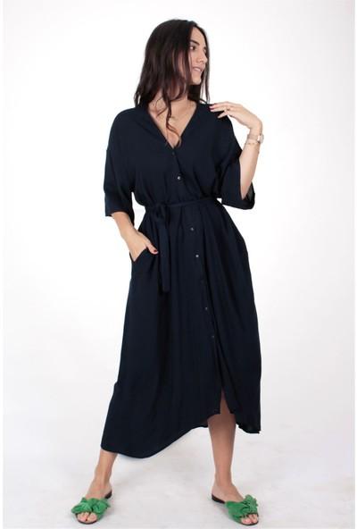 Butik Kafası Kadın BKME105 Kimono Elbise