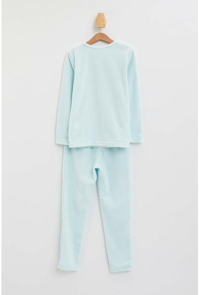 DeFacto Unicorn Baskılı Pijama Takım
