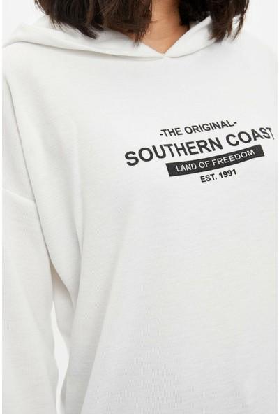 DeFacto Uzun Kollu Örme T-Shirt