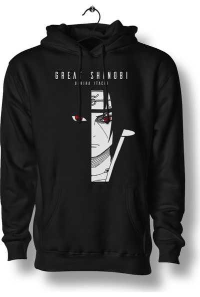 AnimePazarı Büyük Shinobi Uchiha Itachi Naruto Unisex Anime Sweatshirt