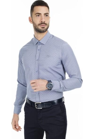 Sabri Özel Slim Fit Uzun Kollu Gömlek Erkek Uzun Kollu Gömlek 5431640D