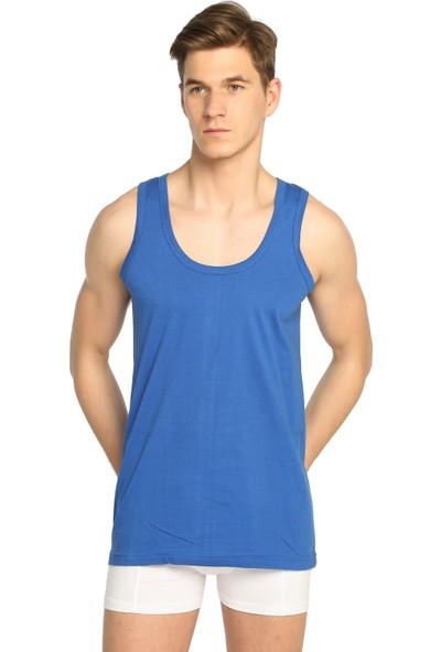 Seher Yıldızı 3'lü Paket Penye Renkli Erkek Atlet