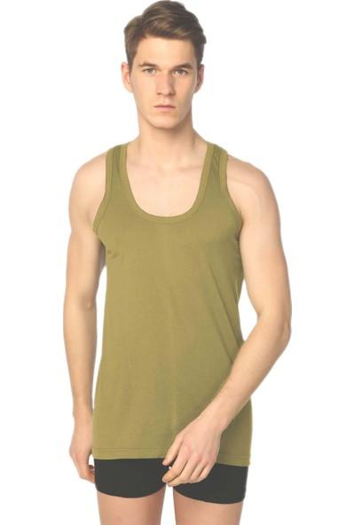 12'li Paket Seher Yıldızı Penye Renkli Erkek Atlet