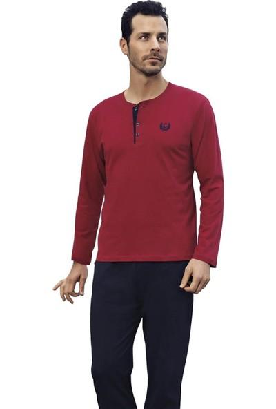 Capsella 1002 Damatlık 2'li Penye Erkek Pijama Takımı