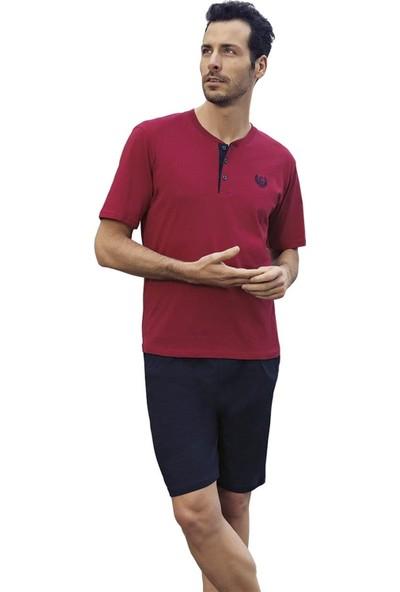 Capsella 1003 3'lü Çeyizlik Kısa Kol Erkek Pijama Takımı