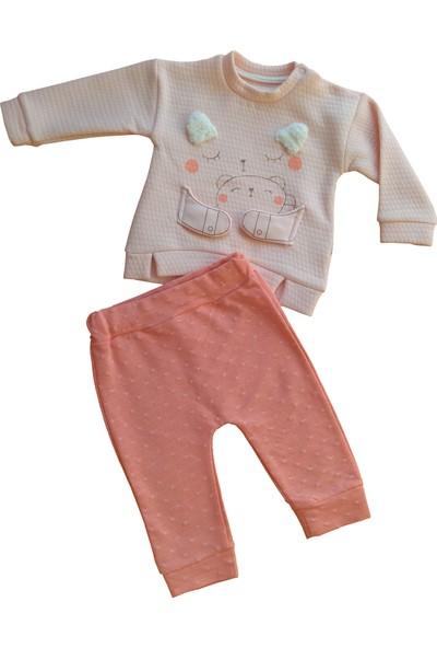 Mymio Baby 2432 Kız Bebek İkili Takım