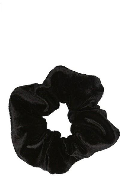 Tokacım Siyah Kadife Simit Saç Tokası