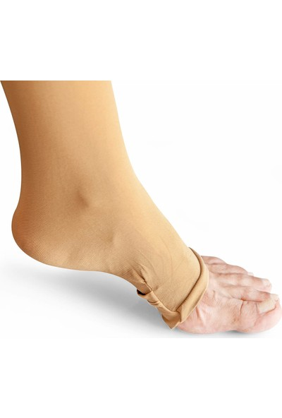 İhvan Pratik Hac Umre Abdest Çorabı Krem -1128