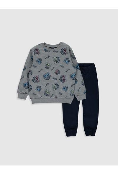LC Waikiki Erkek Çocuk Sweatshirt Ve Pantolon