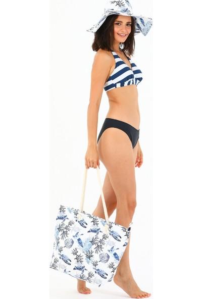 Airlife Kadın Plaj Çantası