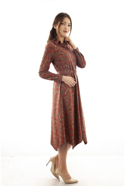 Arda New Line Kiremit Elbise 5305208.48