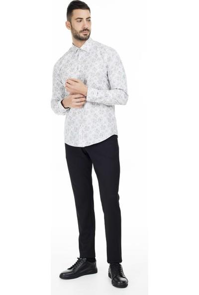 Lufian Trodos Slim Fit Gömlek Erkek Gömlek 112010157