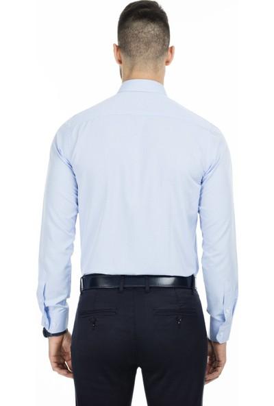 Sabri Özel Uzun Kollu Slim Fit Gömlek Erkek Uzun Kollu Gömlek 5431639