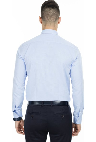 Sabri Özel Slim Fit Uzun Kollu Gömlek Erkek Uzun Kollu Gömlek 5431642A