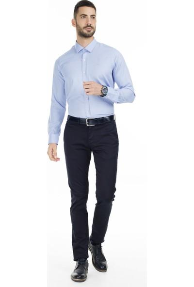 Sabri Özel Slim Fit Uzun Kollu Gömlek Erkek Uzun Kollu Gömlek 5431702