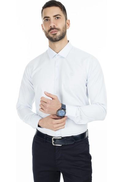 Sabri Özel Slim Fit Uzun Kollu Gömlek Erkek Uzun Kollu Gömlek 5431711