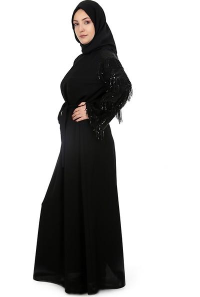Puane Tesettür Abiye Elbise