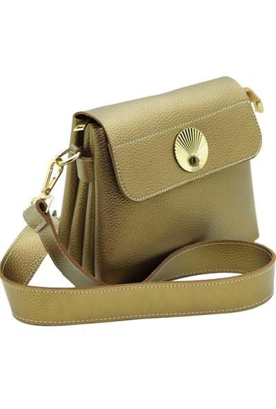 DSN Gold Soft Kadın Çapraz Askılı Çanta