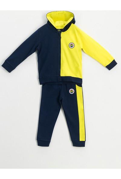 Fenerbahçe Lisanslı Unisex Çocuk Eşofman Takımı Lacivert