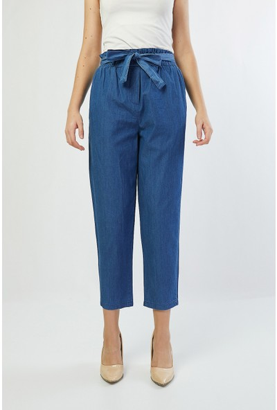 Bazza Kadın Tensel İnce Kot Pantolon