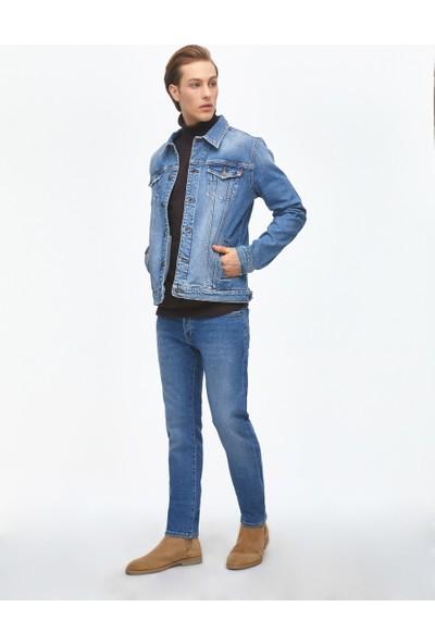 Ltb Santino Y Varys Wash Erkek Jeans Ceket