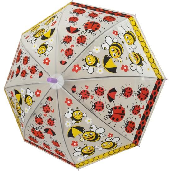 Adalinhome Çocuk Şemsiyesi Uğur Böceği