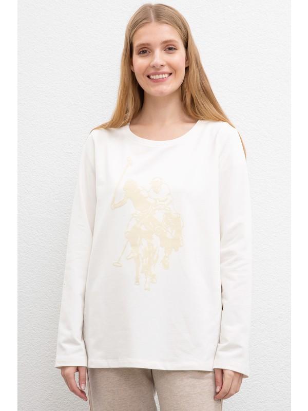 U.S. Polo Assn. Kadın Sweatshirt 50206531-Vr019