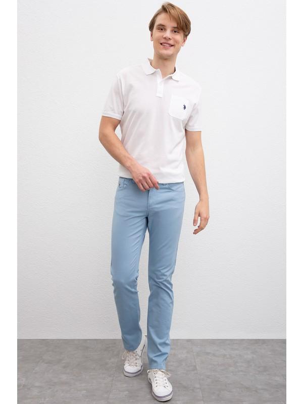 U.S. Polo Assn. Erkek Dokuma Spor Pantolon 50198796-Vr073